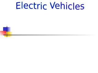 Electric vehicles.ppt