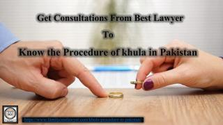 How to get khula in Lahore Pakistan .pdf