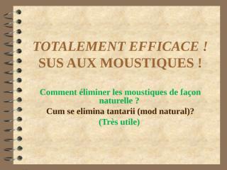 moustiques (pt tantari).pps