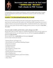 Increase muscle fast way no pumps.pdf