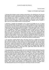 Da inutilidade dos ídolos - São Cipriano.pdf