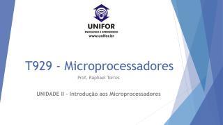 Microprocessadores Unidade II.pdf