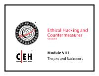 CEHv6 Module 08 Trojans and Backdoors.pdf
