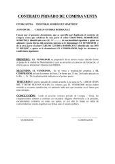 contrato privado de compra venta de inmueble okey.doc