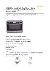 WHIRLPOOL  JT  369  SL stříbrná.docx