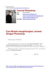 Cara Mudah menghilangkan Jerawat Dengan Photoshop.pdf