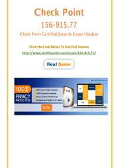 CertifyGuide 156-915.77 Latest Exam Questions.pdf